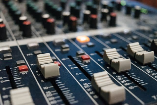 mixing desk, automation mixing,