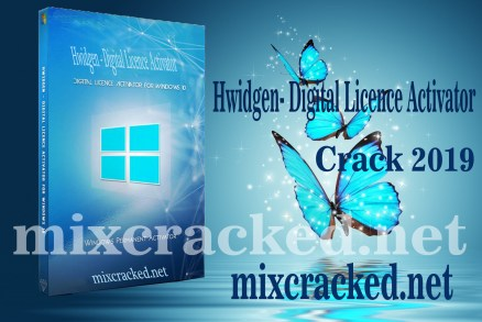 Hwidgen 62 01 - Digital Licence Activator For (Window 10) 2019