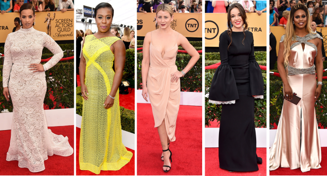 Piores looks Sag awards 2015