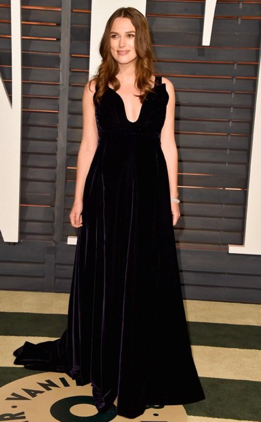 Keira Knightley vestido after party oscar 2015