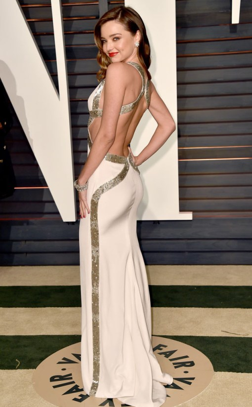 Miranda Kerr vestido after party oscar 2015