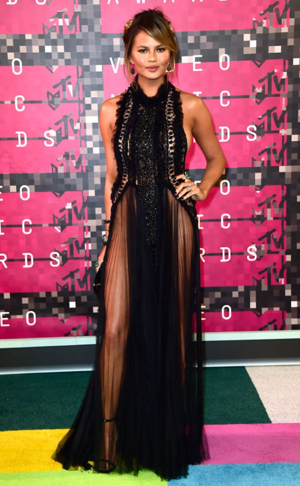 look chrissy teigen vma 2015