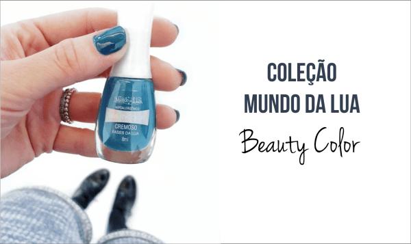 Esmaltes hipoalergênicos Beauty Color Coleção Mundo da Lua