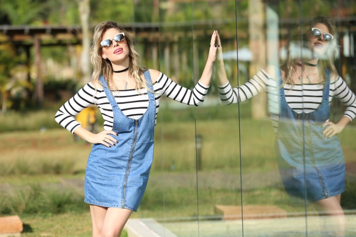 Look do dia Salopete jeans Mel Campo (5)