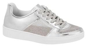 Vizzano tênis metalizado prata 1214-210-11950-41 - R$ 149,90