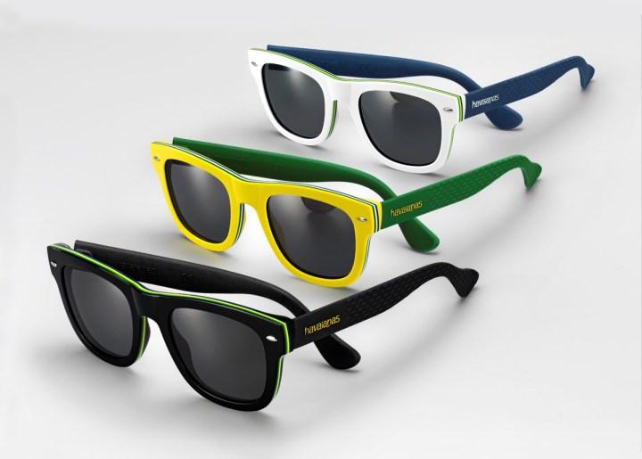 Óculos de sol Havainas para Safilo Modelo Brasil.png