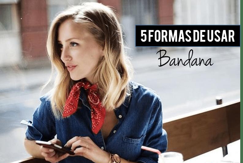 Como usar bandana: 5 formas e 15 inspirações