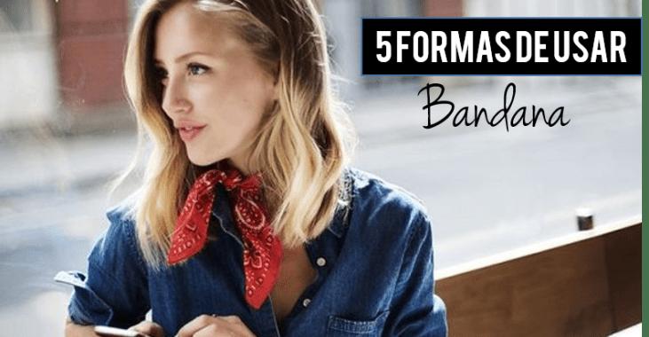 5 formas de usar bandana
