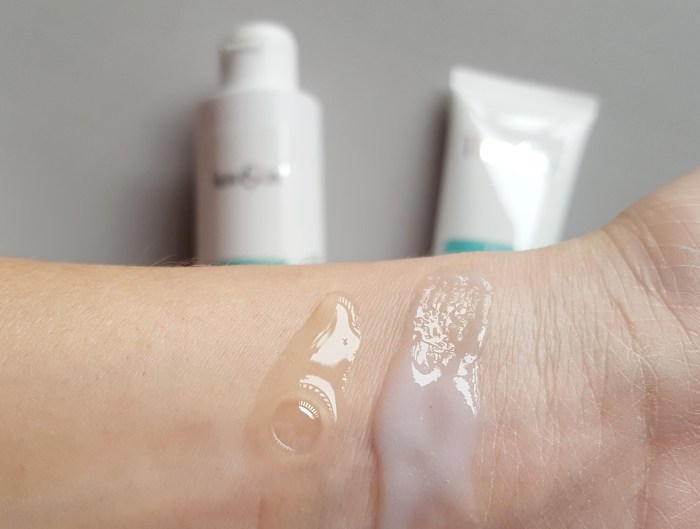 swatch-texturas-produtos-de-limpeza-antiacne-theracne