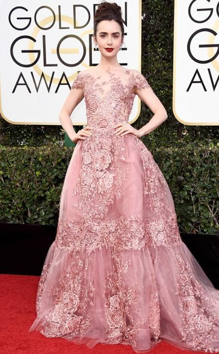 look-lily-collins-golden-globe-globo-de-ouro-2017