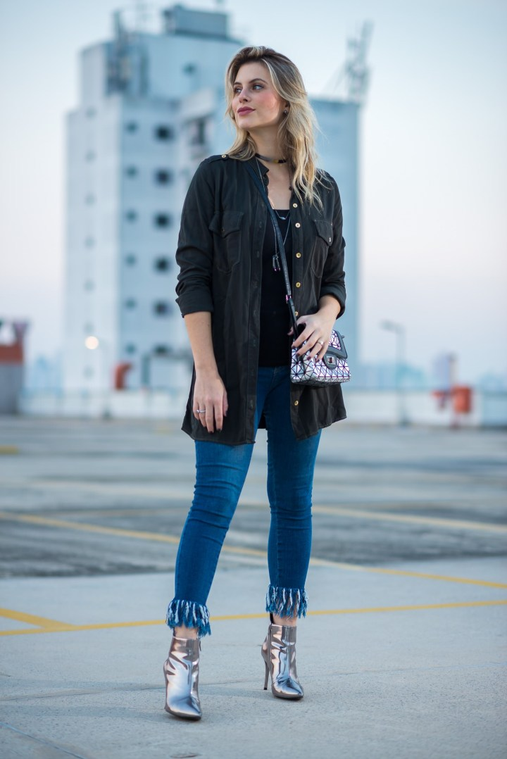 Look do dia Mel Campo Cropped jeans desfiado (8)