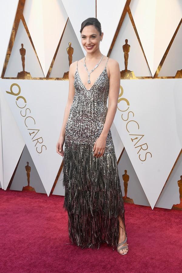 Os melhores looks do Oscar 2018 vestido gal gadot