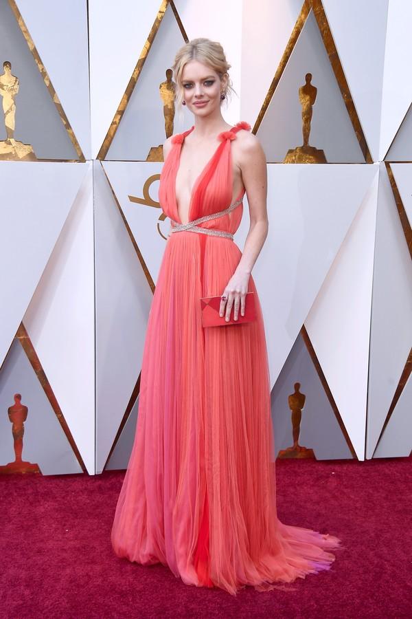 Os melhores looks do Oscar 2018 vestido samara weaving