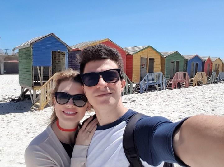 O que fazer na Cidade do Cabo na África do Sul Muizenberg beach