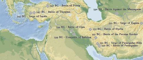 imperiul persan in timpul lui Cirus