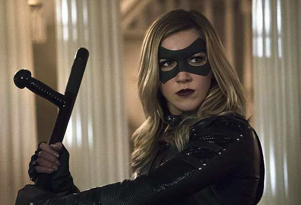 """Arrow -- """"Blood Debts"""" -- Image AR410B_0243b.jpg -- Pictured: Katie Cassidy as Black Canary -- Photo: Katie Yu/ The CW -- © 2015 The CW Network, LLC. All Rights Reserved."""