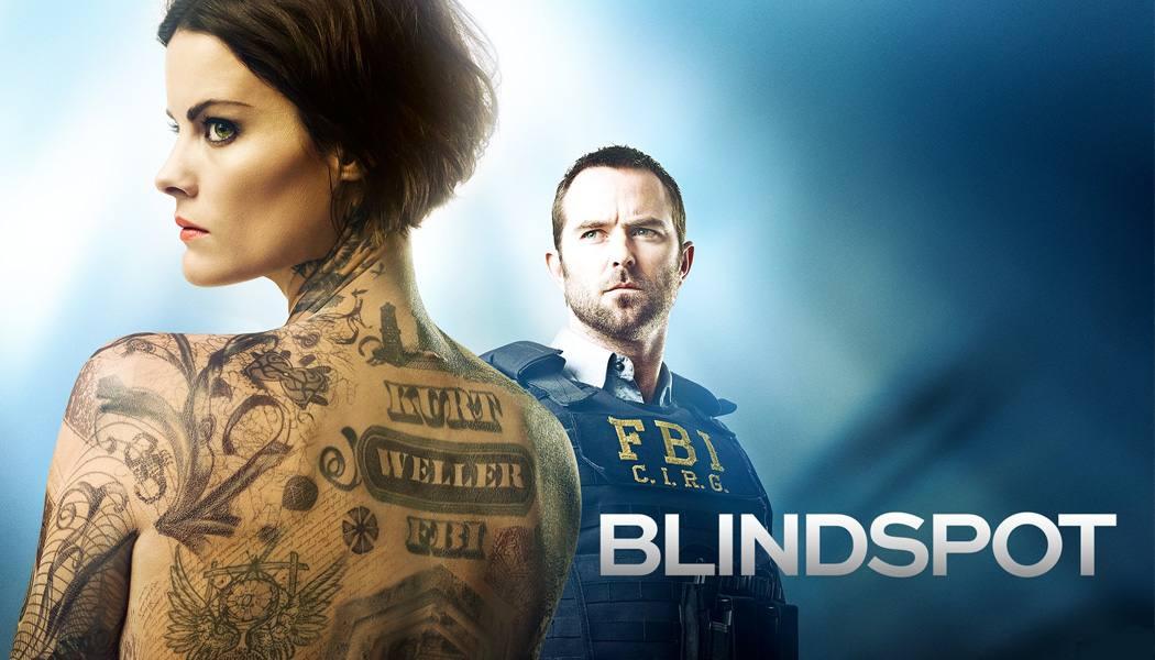 Imagem de divulgação para a série Blindspot