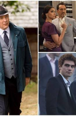 Spoiler Alert, The Blacklist, Grand Hotel, Grey's Anatomy, Riverdale