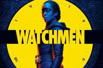 Poster da série da HBO Watchmen