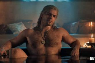 Henry Cavill pelado em The Witcher