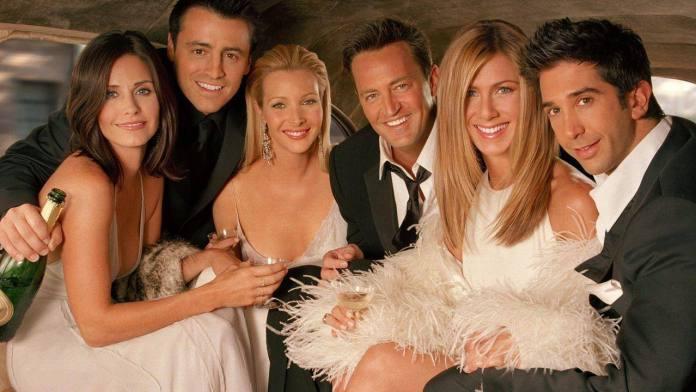 Friends retorna especial data de estreia