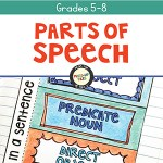 Parts of Speech Interactive Notebook