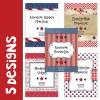 5 patriotic designs