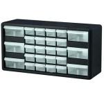 Akro-Mils 26-drawer plastic storage cabinet