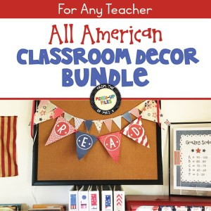 All American Classroom Decor Bundle