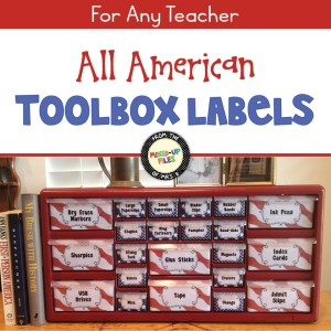 All American Toolbox Labels