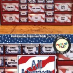 Patriotic Teacher Toolbox Labels