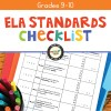 ELA Standards Checklist for Grades 9-10