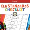 ELA Standards Checklist for Grade 7