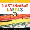 ELA Standards Folder Labels for Grade 8