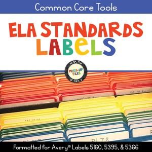ELA Standards Labels