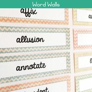 Word Wall Sets