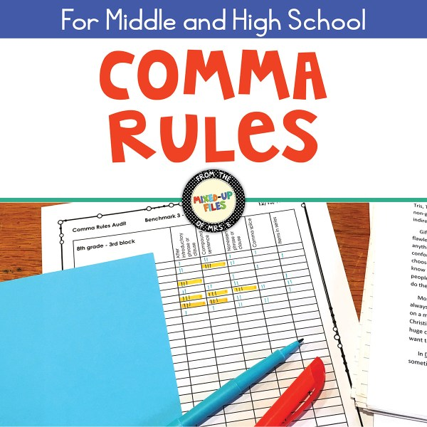 Comma Rules Audit from Mixed-Up Files