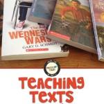 Teaching Texts vs. TeachingStandards