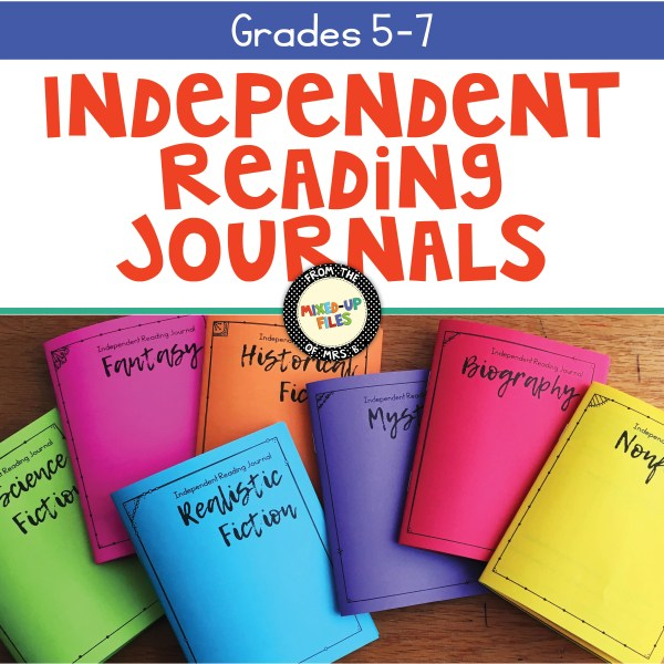 Independent Reading Journals bundle and save