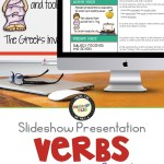 Verbs in Sentences slideshow presentation