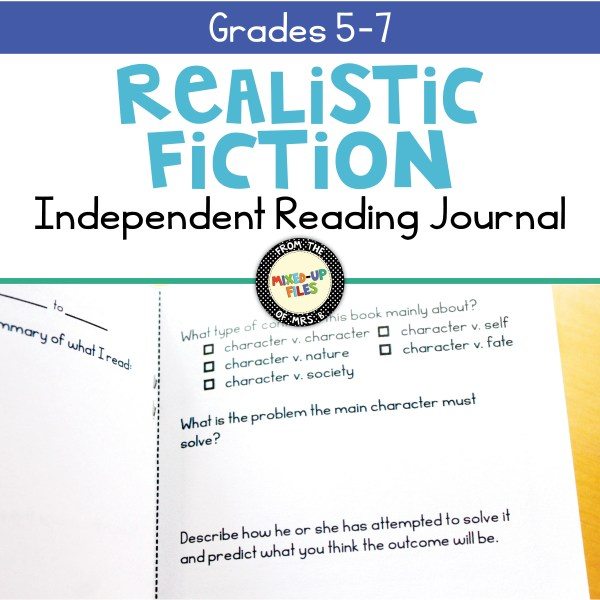 Independent Reading Journal Realistic Fiction