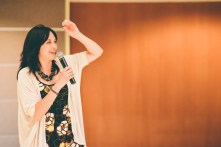 Sharon H Chang, Keynote. Photo credit: Shelby Lisk