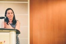Dani Kwan-Lafond, Mixed-Race Identity & Family panel. Photo credit: Shelby Lisk