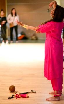 Rebecca John performing. Photo credit: Shelby Lisk