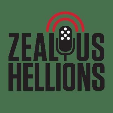 Zealous Hellions (the 'O' in Zealous is a microphone)