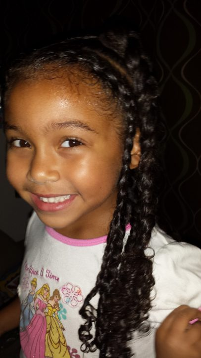 Simple and Easy Braid Tutorial - By The Mixed Mama Blog