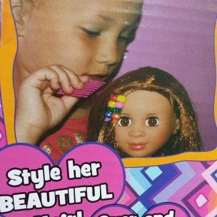 Kenya Doll Review by the Mixed Mama Blog