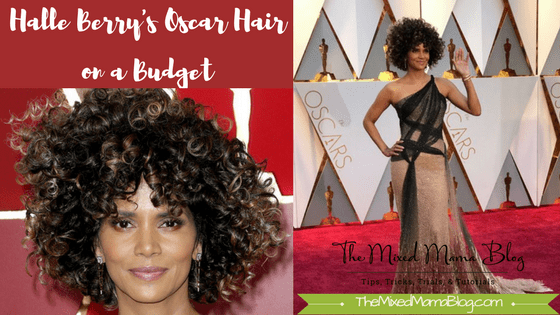 Halle Berry Oscar's Hair on a Budget