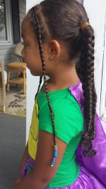 Face Framing Braids & Pigtails Tutorial