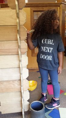 Curl Next Door Tee _ Black Friday Deals - Curly Hair and Multiracial Kids Edition by Mixed Family Life